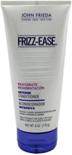 John Frieda Frizz-Ease Rehydrate Intensive Deep Conditioner, 6 oz (Pack of 3)