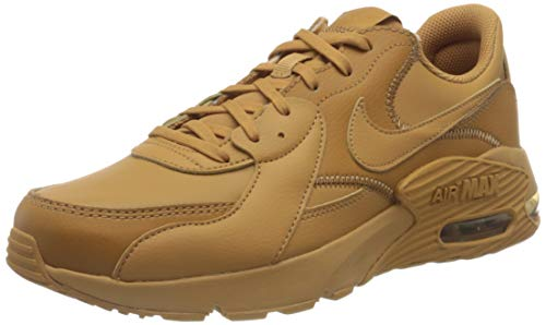 Nike Air MAX EXCEE Leather, Zapatillas de Running Hombre, Flax Flax Twine, 44 EU