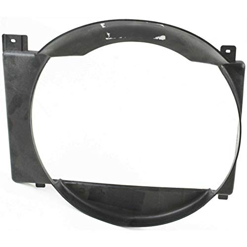 Sherman Replacement Part Compatible with JEEP CHEROKEE Radiator fan shroud(Partslink Number CH3110104)