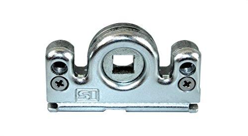Siegenia (SI AUBI) Reparatur Getriebeschloss Schneckengehäuse für Serie Favorit TRIAL Getriebe 3 & 23 schraubbar mit SN-TEC Upgrade