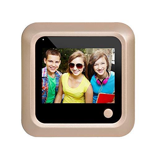 Visual Video Digital Timbre Mirilla Visor de Identificación Inteligente Cámara oculta incorporada...
