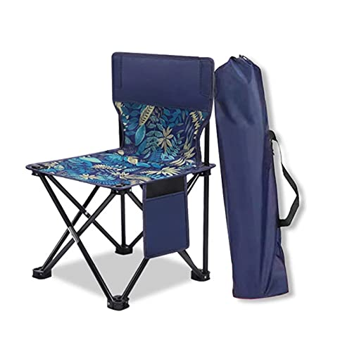 MYRCLMY Outdoor Ultralight Tragbare Klappstühle Mit Tragetasche Heavy Duty 145Kg Kapazität Coloraprible Stuhl Camping Faltungsstühle Strandstühle,L