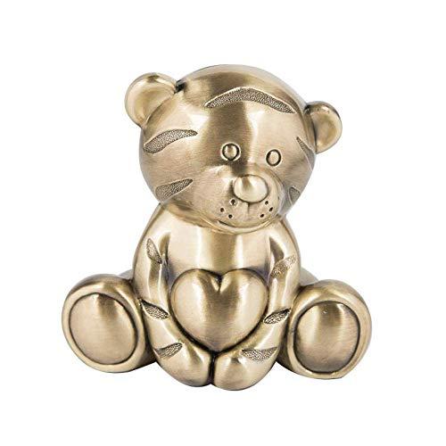 Decorative Collectibles Standbeeld Ornament knuffel Cute Tiger Spaarvarken Metal Crafts Kinderen Cadeau Decoratie Praktische decoratieve spaarpot.