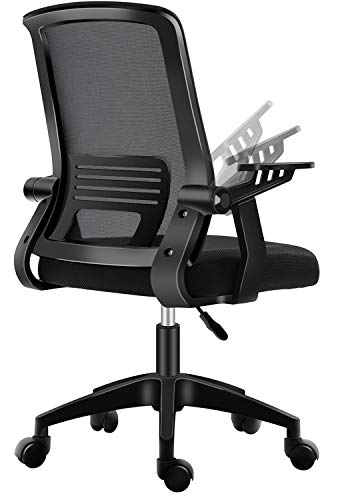 Office Chair,PatioMage Gaming Chair Ergonomic Mesh Computer Chair Lumbar Support Comfortable Task Chair Desk Chair for Adults Men Women (Black)