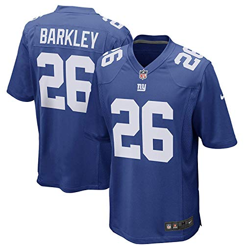 Nike Saquon Barkley New York Giants Team Color Youth Game Jersey (Youth XL 18-20)