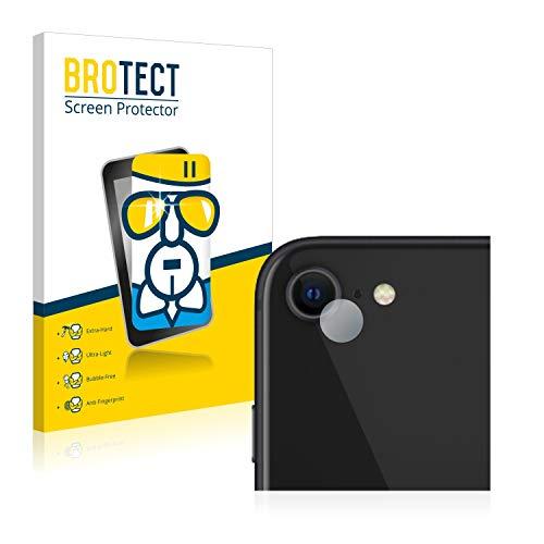 BROTECT Panzerglas Schutzfolie kompatibel mit Apple iPhone SE 2 2020 (NUR Kamera) - AirGlass, extrem Kratzfest, Anti-Fingerprint, Ultra-transparent