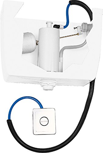 Fominaya 0153004101 Descargador hidroneumático + pulsador + juntas + tubos + grifo lateral, Negro, Estandar