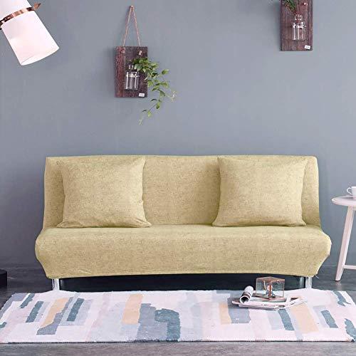 GWFVA Opvouwbare slaapbank zonder arm elastisch futon wasbaar 160-190CM