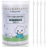 Lameila 200 Count Baby Safety Cotton Swabs