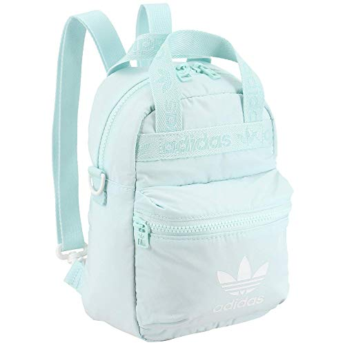 adidas Originals Micro Backpack Small Mini Travel Bag, Halo Mint, One Size