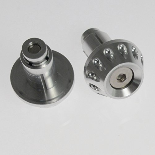 Kit Embouts Guidon 13&17mm Scooter Moto Equilibrage Universel Chrome