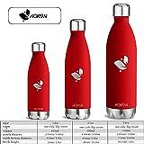 Aorin 500ml Trinkflasche (Traube Rot) - 6