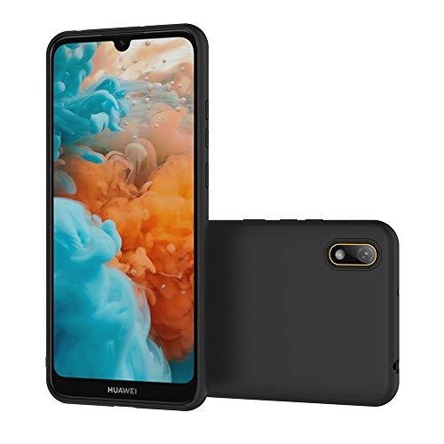 AICEK Compatible Huawei Y5 2019 Hülle, Schwarz Silikon Schutzhülle für Huawei Y5 2019 Case TPU Bumper Huawei Y5 2019 Handyhülle (5,71 Zoll) - 6
