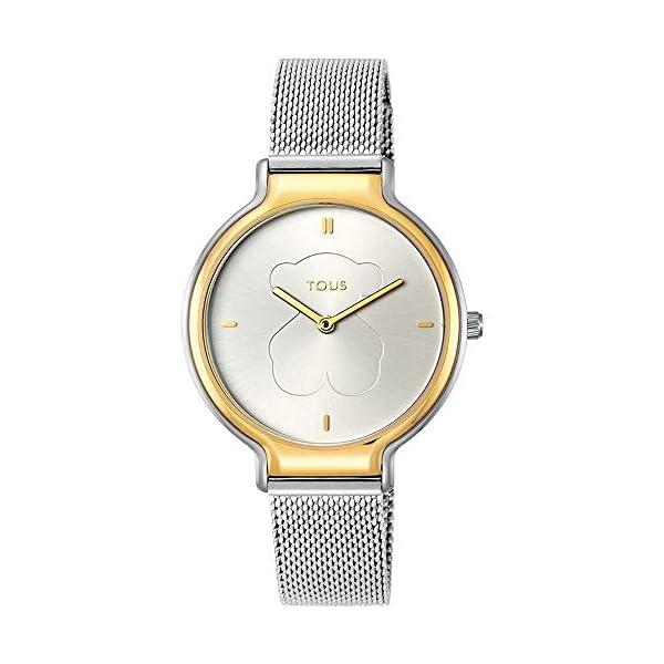 Tous Reloj Real Bear Bicolor de Acero/IP Dorado Ref:900350385