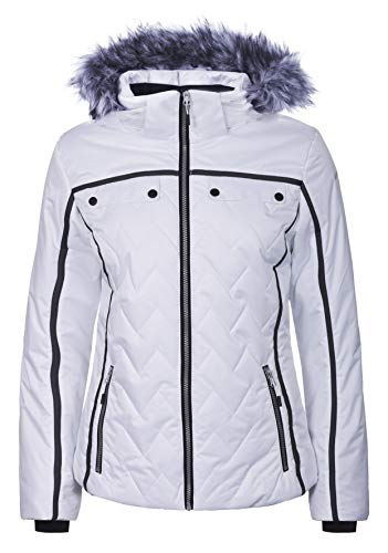 ICEPEAK Damen PEVELY Jacke, weiß, 42.0