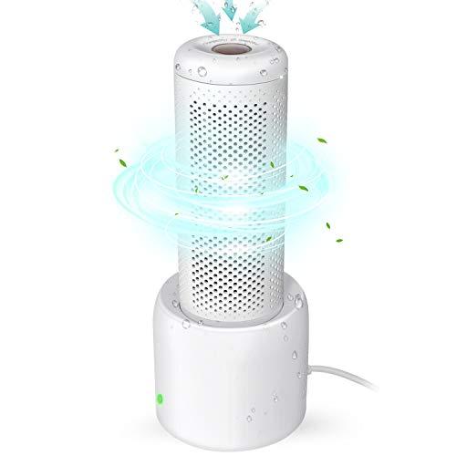 Kangtaixin Recycelbar Luftentfeuchter, Small Luftraumentfeuchter Auto Wiederverwendbar mit Granulat, 360°Entfeuchtung für Schrank Bücherregal Schublade Schuhkarton (Körper + Trocknungsbasis)