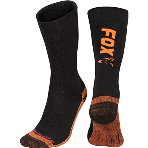 Fox Chaussettes longues Thermolite noir/orange 44-47