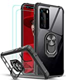 LeYi for Huawei P40 Pro Case and 2 PET Screen Protector,