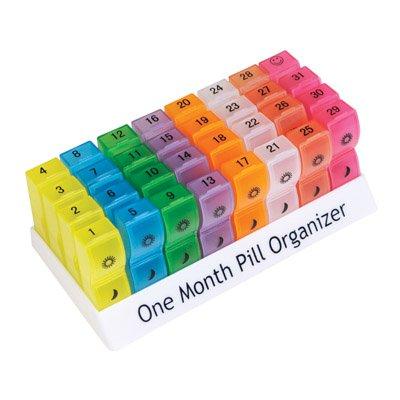 Aidapt pillendispenser VM931AC, voor een maand