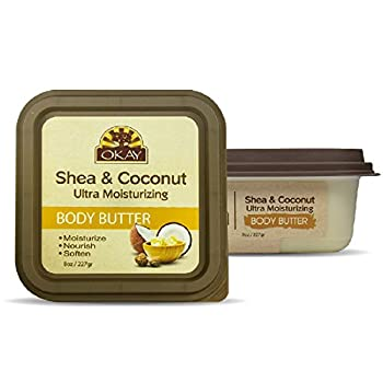 OKAY Shea & Coconut Ultra Moisturizing Body Butter 8 Ounce