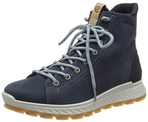 Ecco Damen EXOSTRIKEW Hohe Sneaker, Blau (Marine 1038), 41 EU