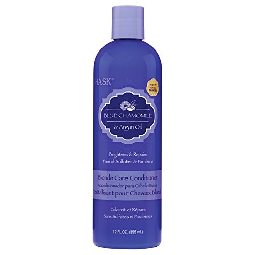 HASK Blue Chamomile with Argan Blonde Conditioner 355 ml
