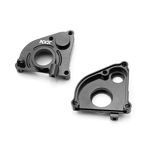 KYX Racing Alloy CNC Machined Transmission Case Cover Gearbox Housing Plate Gearbox Shell Cover Upgrades Parts Accessories for 1/24th Scale RC Crawler Car Axial SCX24 Deadbolt