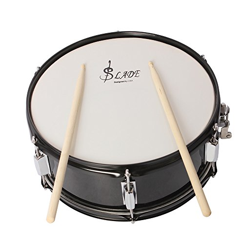 ammoon Professional Snare Drum Head 14 Inch with Drumstick Drum Key Strap...