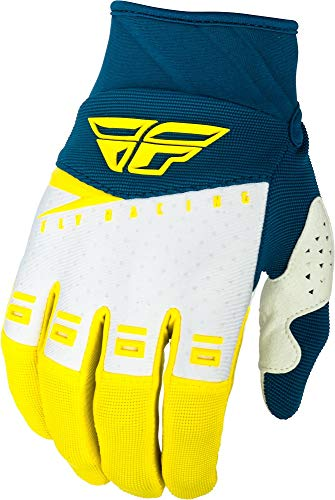 Fly Racing 2019 F-16 Gloves (Large) (Blue/Black/HI-VIZ)