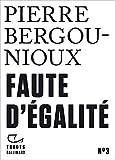 Tracts (N°3) - Faute d'égalité - Format Kindle - 9782072854187 - 3,49 €