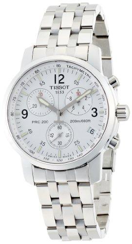 T-Sport PRC200 Chronograph White Dial