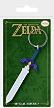 Official Licensed The Legend Of Zelda Master Sword Rubber Keyring Keychain