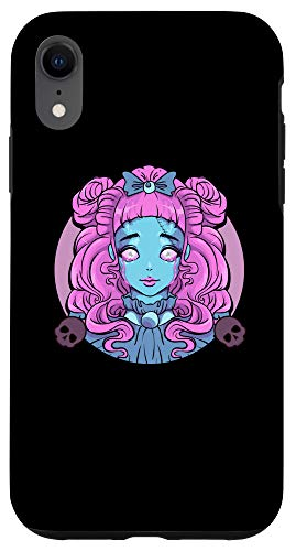 iPhone XR Pastel Goth Porcelain Doll Crying Tears Case -  Pastel Goth Porcelain Doll Crying Tears Designs