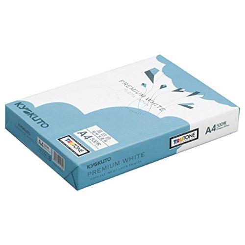 キョクトウ コピー用紙 プレミアムホワイト A4 500枚×5冊 PPCKA4ハコ