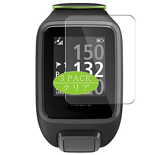 VacFun 3 Piezas Protector de Pantalla, compatible con TomTom Golfer 2 SE GPS Watch, Screen Protector Película Protectora (Not Cristal Templado Funda Carcasa)