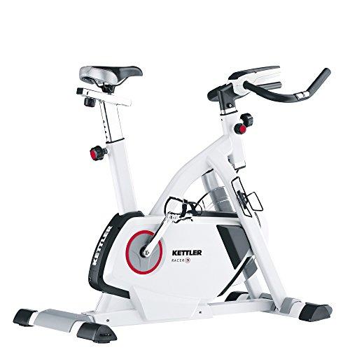 Kettler Indoor Fahrrad Racer 3, Erwachsene, Unisex, schwarz, grau, Einheitsgröße