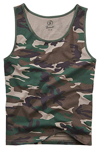 Brandit Tank-Top, Woodland 3XL