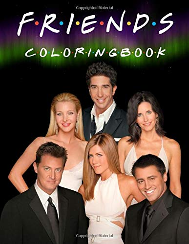 Friends Coloring Book: 31 Artistic Illustrations. Coloring Books with Friends TV Show