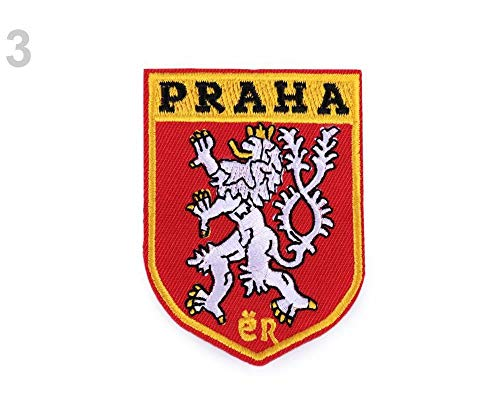 1pc Como Foto Praga Hierro-sobre Parche Praga Y República