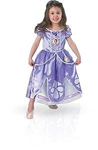 Princesas Disney - Disfraz de Princesa Sofía para niña, infantil 3-4 años (Rubie's 154980-S)