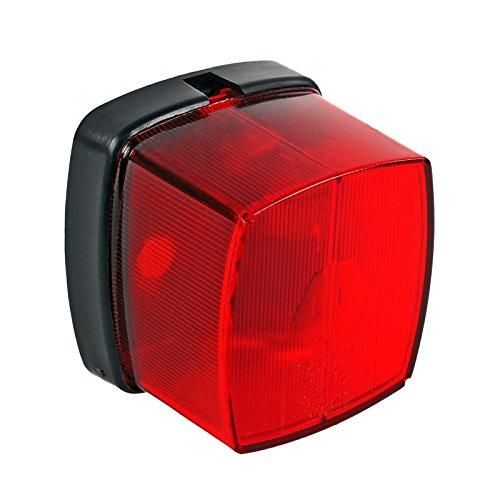 ProPlus Positionsleuchte rot E Prüfzeichen inkl Befestigungsmaterial für Wohnwagen und Anhänger