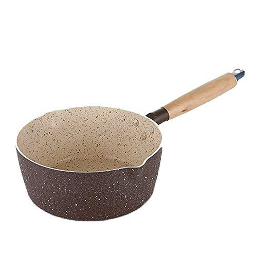 Lecimo Casserole de poêle à Frire de Cuisine Professionnelle antiadhésive 18cm pour ustensiles de Cuisine