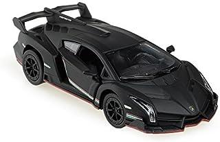 Lamborghini Veneno 1/36 Matt Black by Kinsmart
