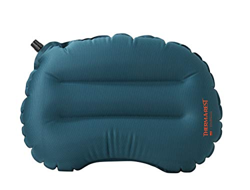 Therm-a-Rest Air Head Lite Inflatable Travel Pillow for Camping, Backpacking, Airplanes and Road Trips, Regular - 11 x 15.5