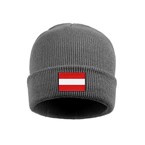 coolgood Beanie Hat for Men Womens Austria-Story-Behind-Austrian-Flag- Acrylic Ski Caps