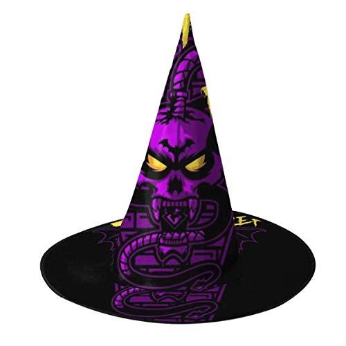 Sombrero de Halloween Asesino de Vampiros Retro Castlevania Sombrero de Bruja Disfraz Unisex de Halloween para Vacaciones Halloween Navidad Carnavales Fiesta