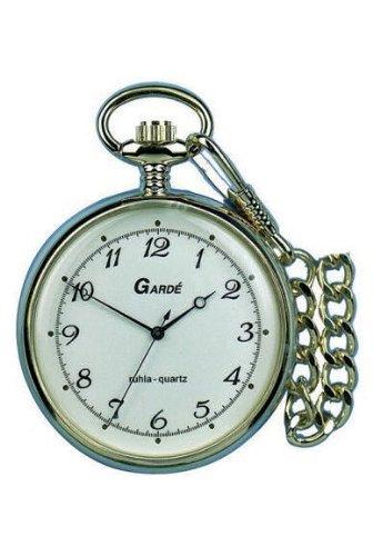 Garde Uhren aus Ruhla Taschenuhr mit Kette 8036-2