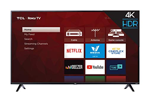 TCL 65S425-CA 4K Ultra HD Smart LED Television (2019), 65