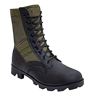 Rothco Military Jungle Boots, 10, Olive Drab