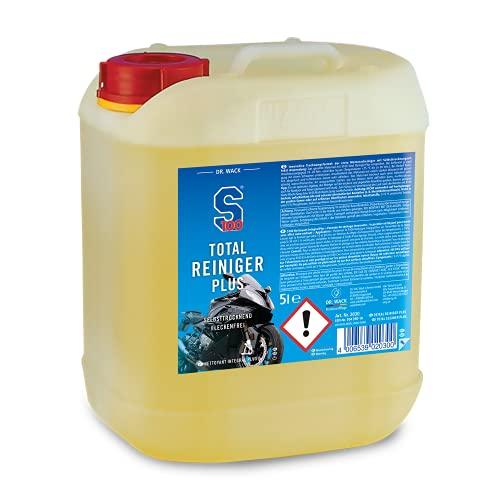 Dr. Wack Artikelnummer - S100 Total Reiniger+ 5 L I Premium Motorrad-Reiniger für alle Motorräder I Hohe Ergiebigkeit & Reinigungswirkung I Hochwertige Motorradpflege – Made in Germany